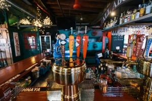 inside beer taps